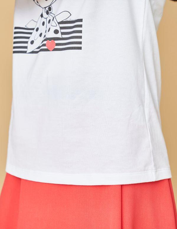 オーガニックコットン プリントTシャツ