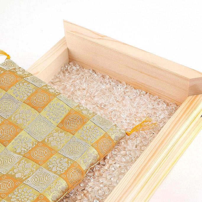 財布布団用さざれ石水晶(ブラジル産AAAA)