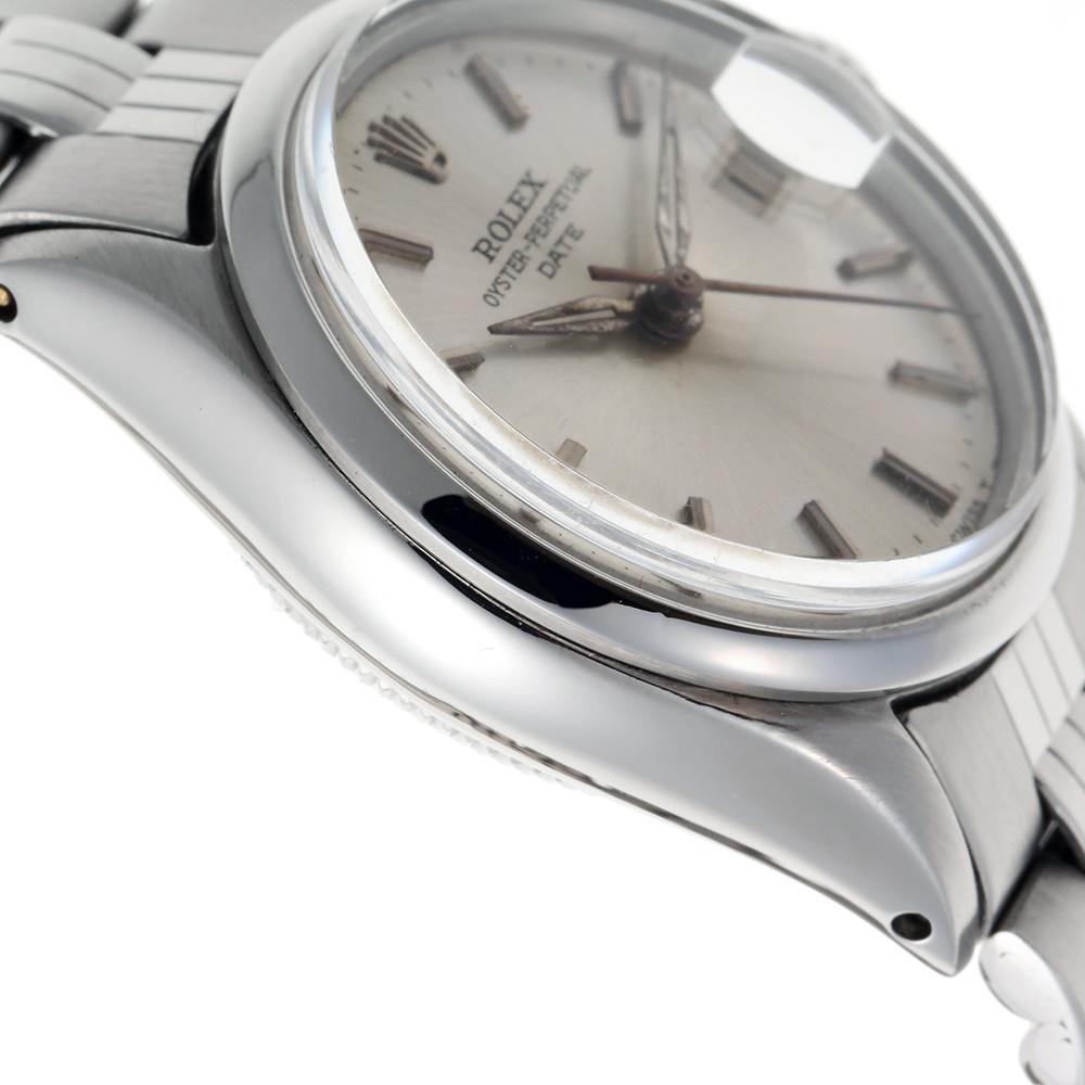 【1968年製】オイスターパーペチュアル デイト Ref:6517