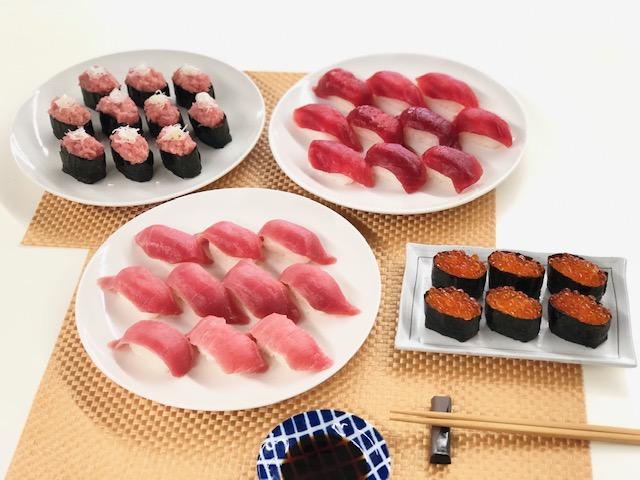 寿司パーティーセット(舎利玉付き)