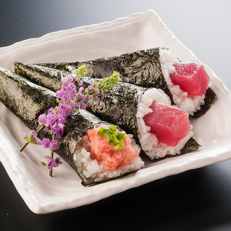 【送料無料!】天然まぐろ贅沢手巻き寿司セット