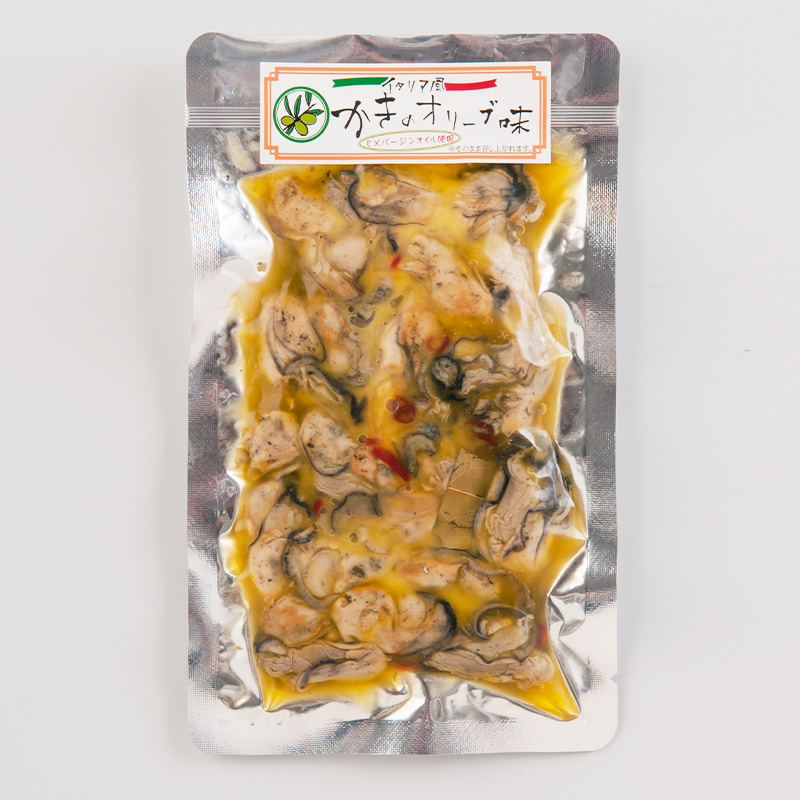 イタリア風 かきのオリーブ味