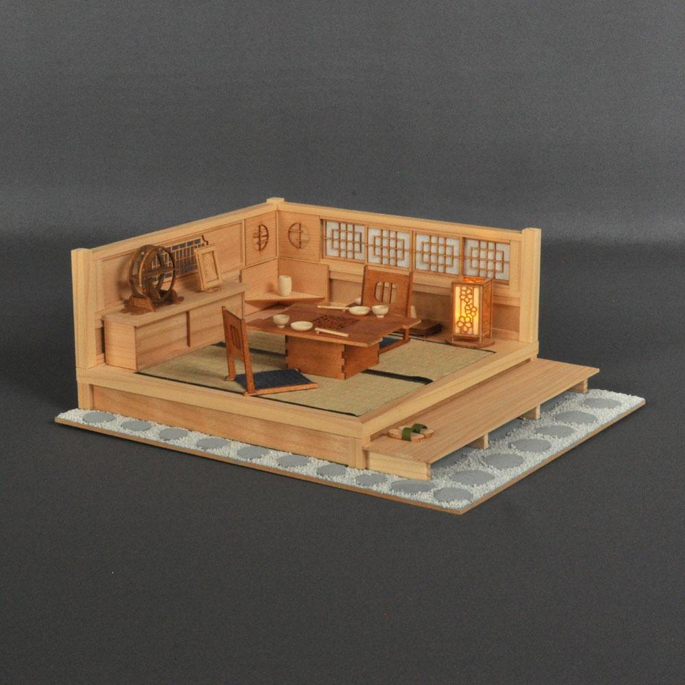 和の設え「黄昏」 :伊藤敏男 塗装済完成品 1/12 スケール