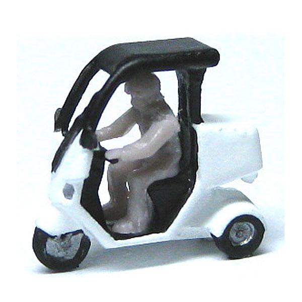 ピザバイク (2台セット) :YSK 未塗装キット N(1/150) 品番284