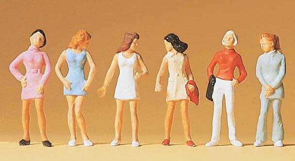ティーンエイジャー(女の子) :プライザー 塗装済完成品 HO(1/87) 14006