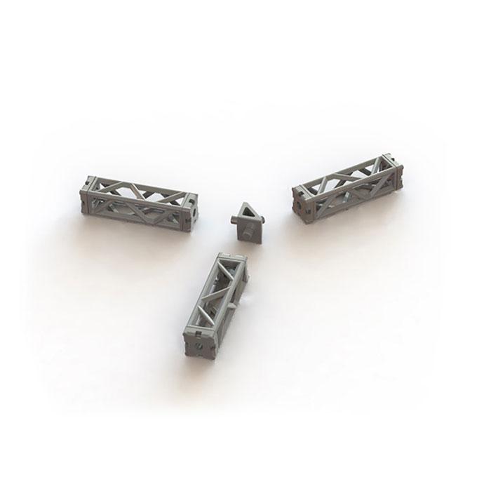プラ・アクセサリー06 ミニトラス :PLUM 未塗装キット ノンスケール MS022