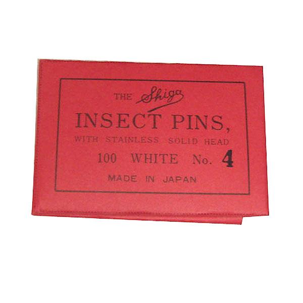 インセクトピン(虫ピン) 4号/軸径0.55mm :シガ 素材 ノンスケール 040