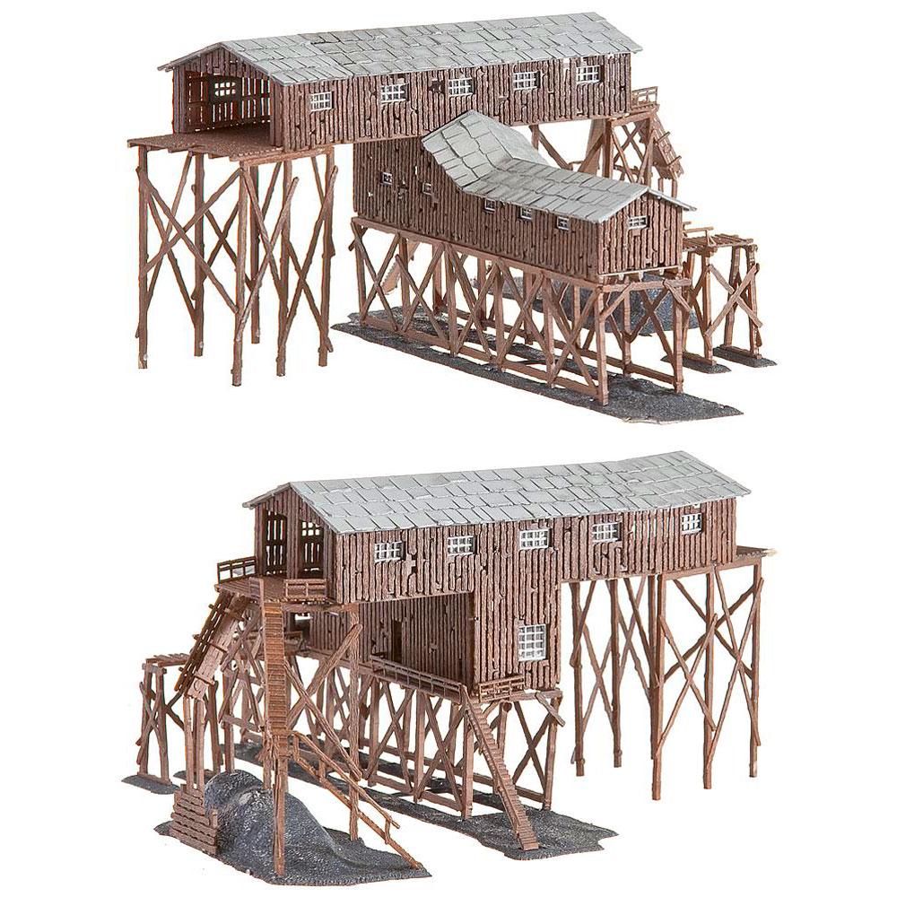 古い炭鉱 :ファーラー 塗装済みキット N(1/160) 222205