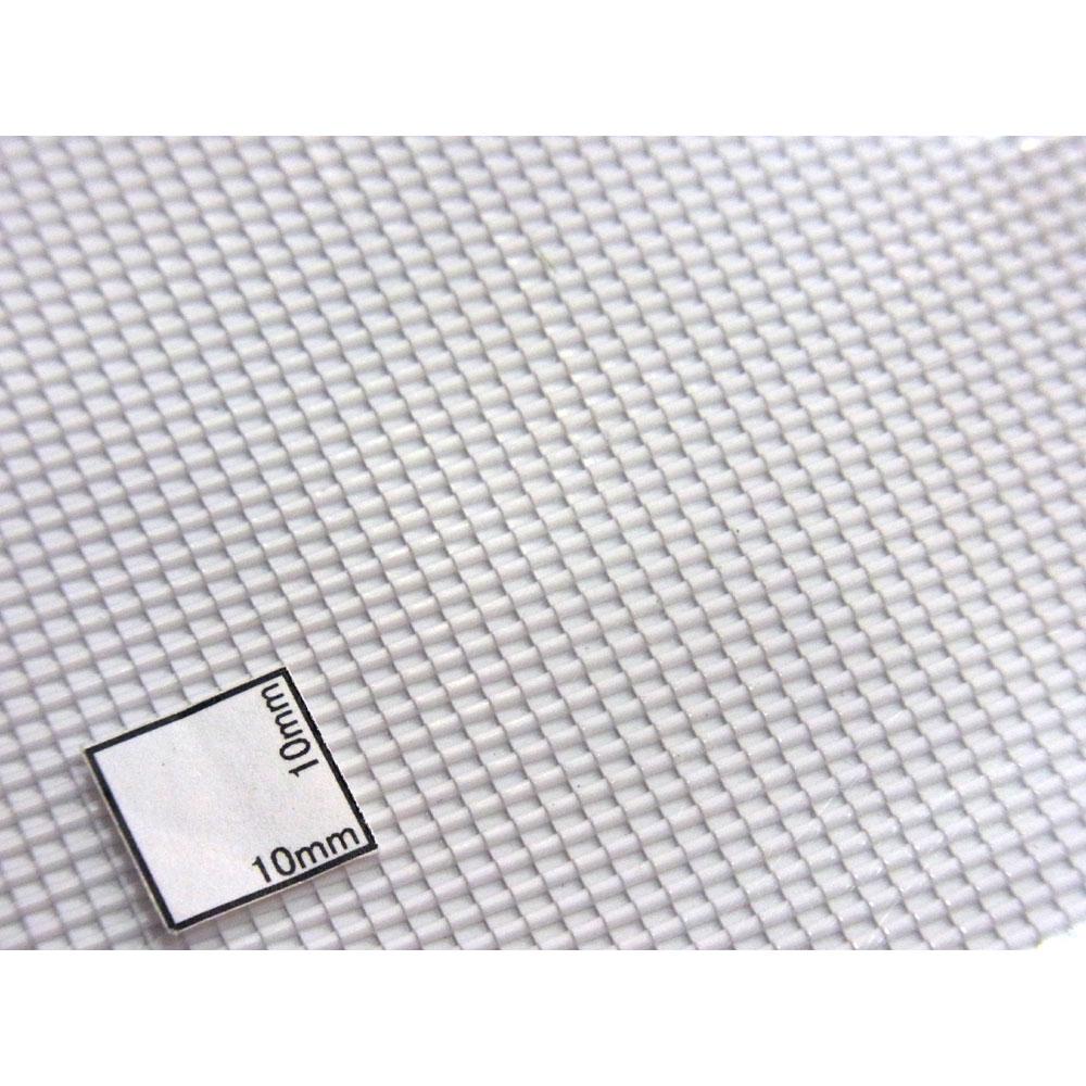 洋瓦屋根シート 75 x 75 x 1.6 mm 2枚入り :プラストラクト プラ材 1/200スケール 91640