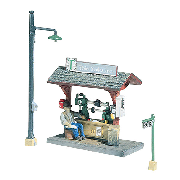 鉄道秤とおじさん(トラックサイドスケール) :ウッドランド 未塗装キット HO(1/87) D231