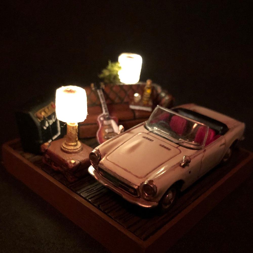 情景箱「太く甘いサウンドに身を委ね」 :川田崇司 塗装済完成品 1/64