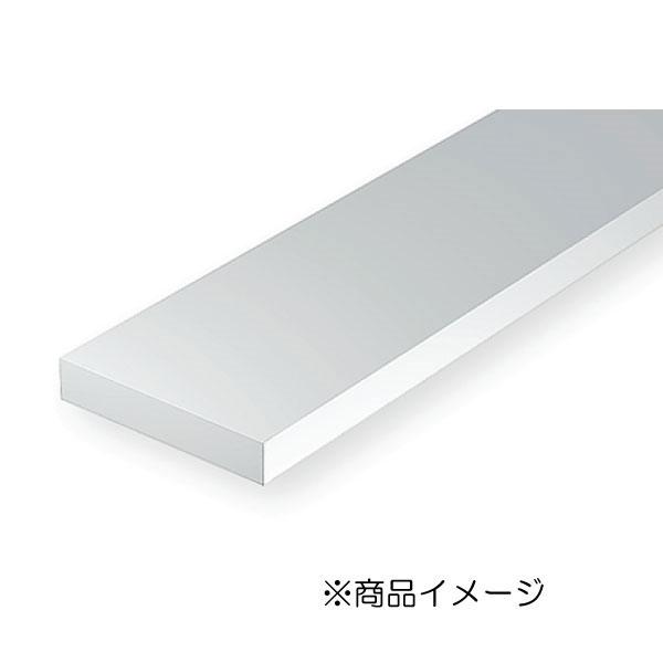 角棒 1.0 × 6.3 × 350 mm :エバーグリーン プラ材 ノンスケール 149