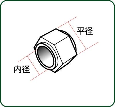 六角管継手  平径1.2mm :さかつう ディテールアップ ノンスケール 4455