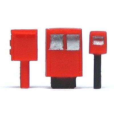 郵便差出箱 :YSK 未塗装キット N(1/150) 品番324