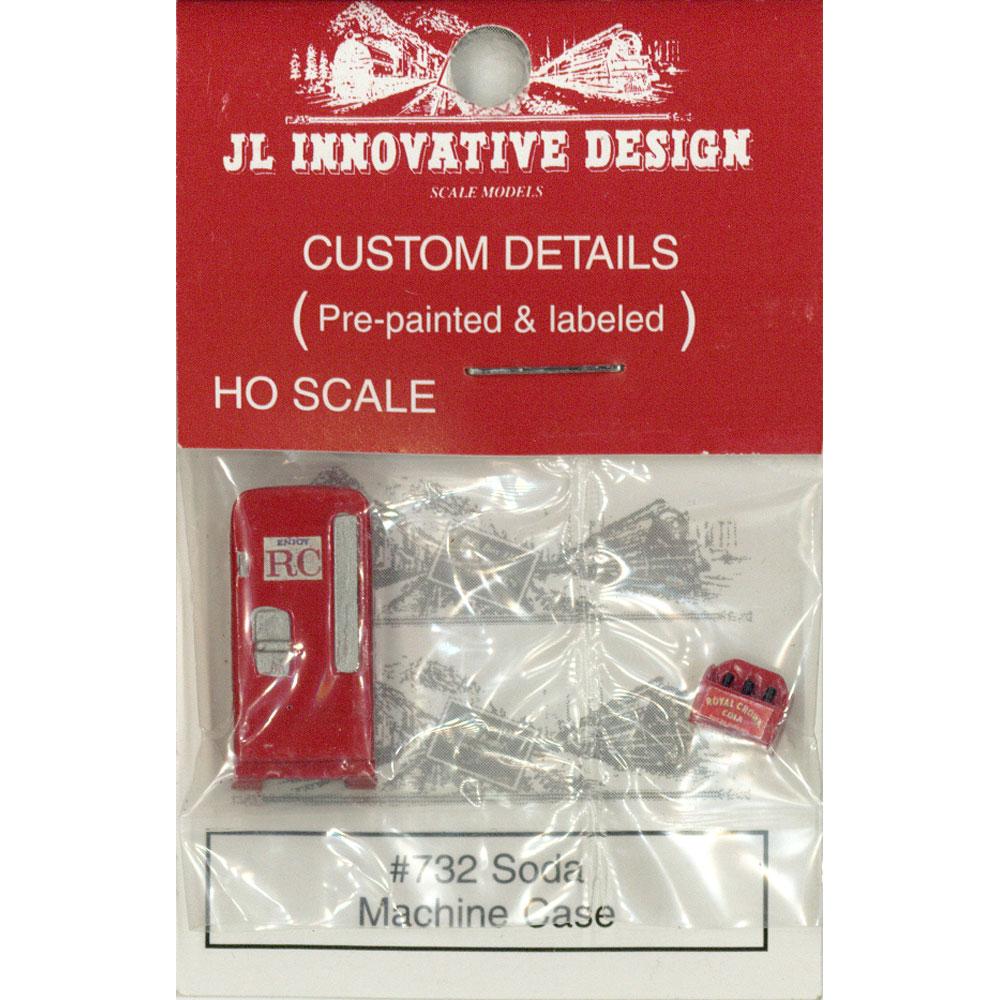 ソーダマシーン(ジュース自販機) :JLイノベーティブデザイン 塗装済み完成品 HO(1/87) 732