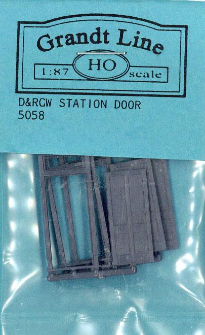 木製ドア :グラントライン 未塗装キット(部品) HO(1/87) 5058