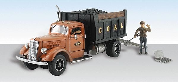 デコボコ石炭会社(ダンプトラック) :ウッドランド 塗装済完成品 HO(1/87) AS5555