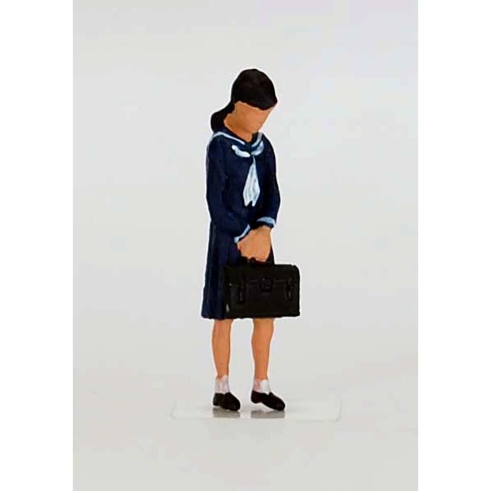 高校生 女子(昭和版) :Kt工房 塗装済完成品 HO(1/80) A13S-80