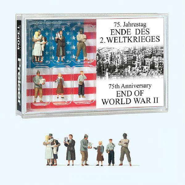 第二次世界大戦 終戦75周年 :プライザー 塗装済完成品 HO(1/87) 13404