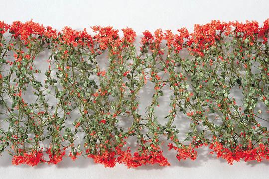 赤い花 :ミニネイチャー 素材 ノンスケール 998-23