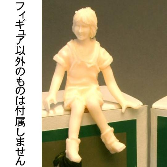 Sitting girl(シッティングガール) :ダンケズモデルスタジオ 未塗装キット 1/24 FI24-002
