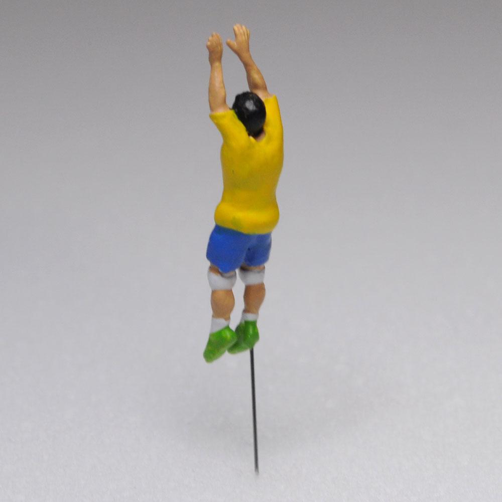 アスリート人形 バレーボール ブロックA :さかつう 3Dプリント 完成品 HO(1/87) 210