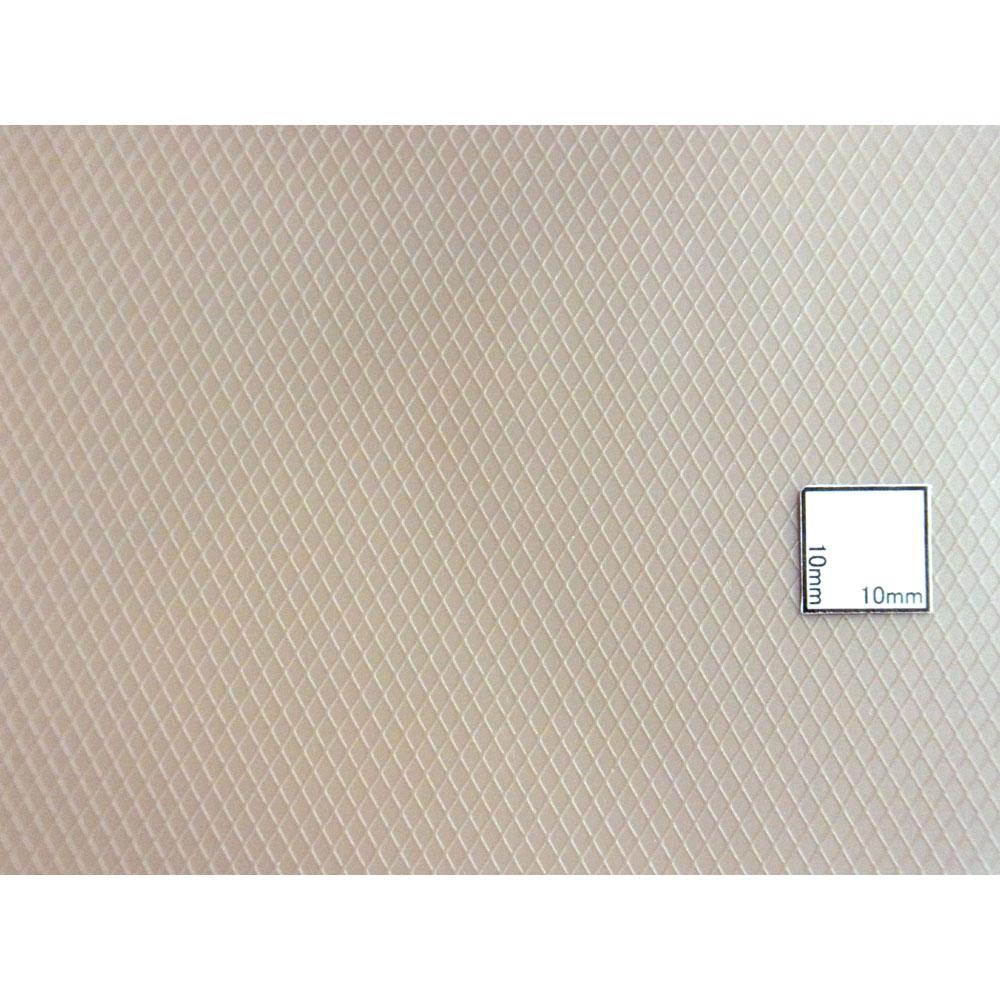 シート・斜め格子柄 175 x 300 x 0.5 mm :プラストラクト プラ材 N(1/160) 91681