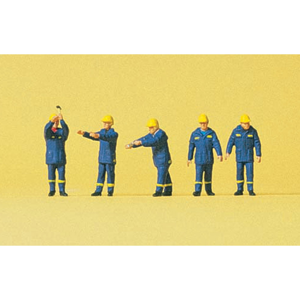 ドイツ連邦技術支援隊(THW) ・伐採作業員 :プライザー 塗装済完成品 N(1/160) 79180