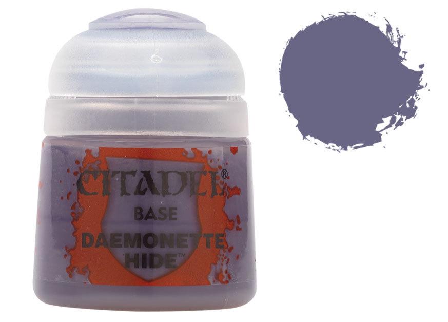 シタデル・ベースコート Daemonette Hide(デモネット・ハイド) :ゲームズワークショップ つや消し塗料 21-06