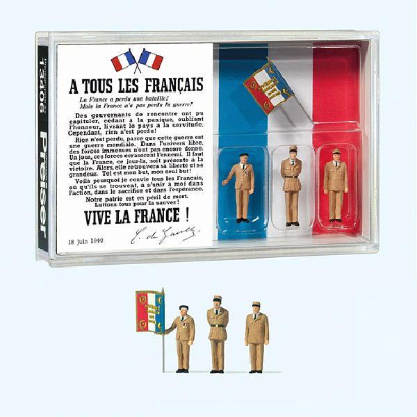 シャルル・ド・ゴール 80周年アピール :プライザー 塗装済完成品 HO(1/87) 13406