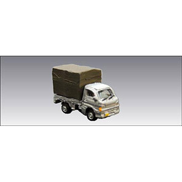 軽トラ 1 ・ シルバー :アイコム 塗装済完成品 N(1/150) MLV-6001