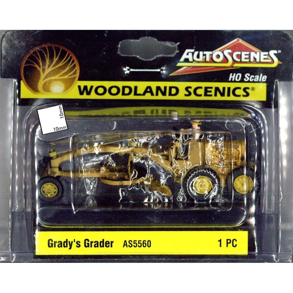 グレイディのグレーダー :ウッドランド 塗装済完成品 HO(1/87) AS5560