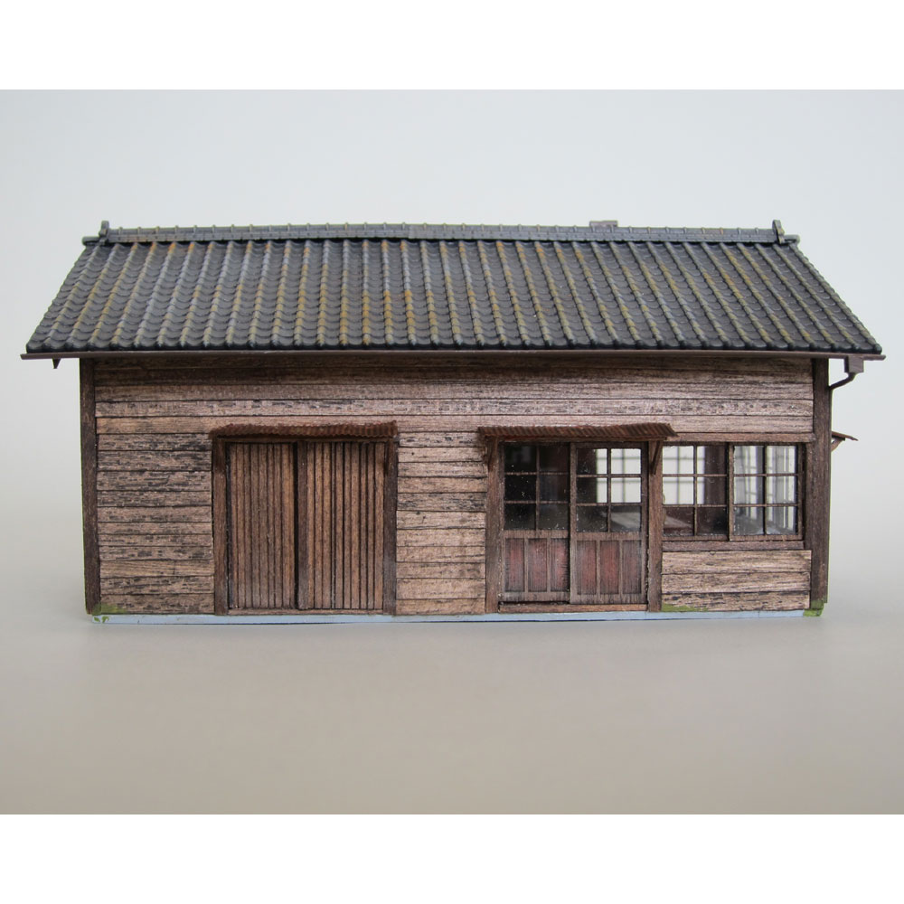 詰所 新津駅タイプ2 :匠ジオラマ工芸舎 塗装済完成品 HO(1/80) 1020