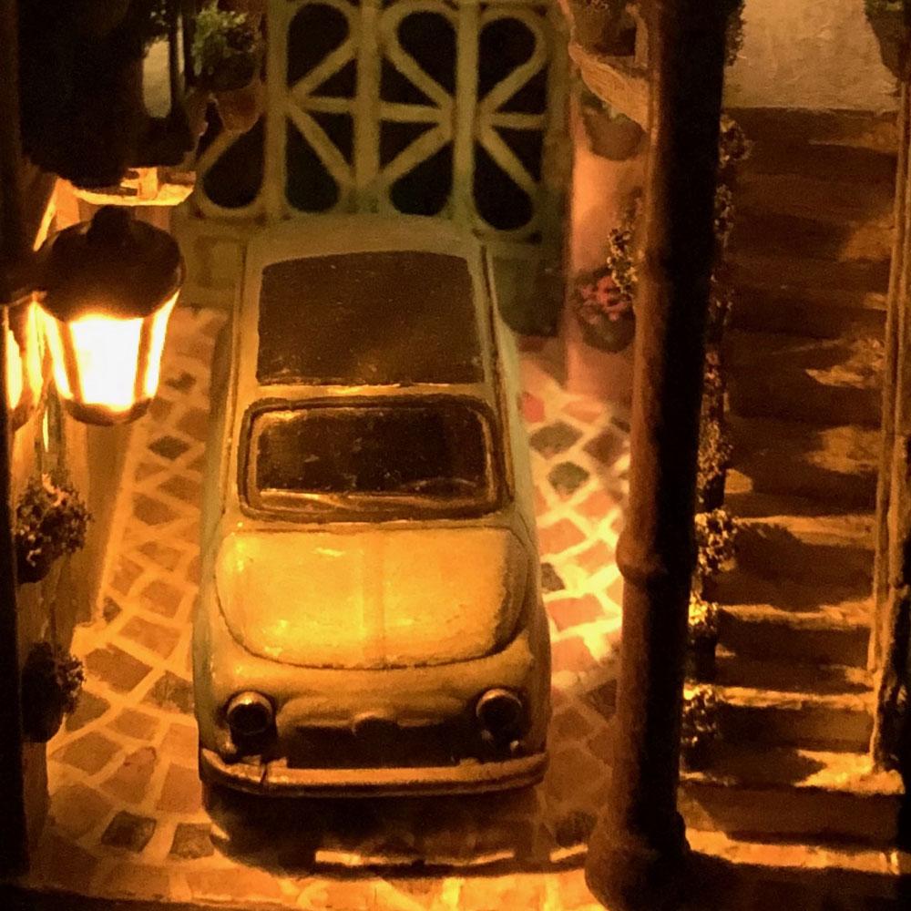 情景箱「中庭のある家」 :川田崇司 塗装済完成品 1/64