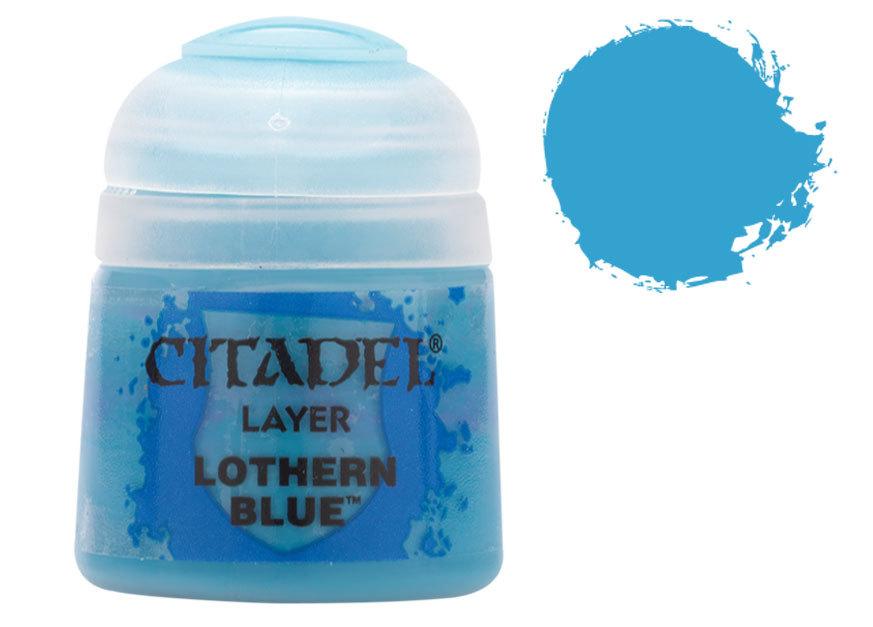 シタデル・レイヤー Lothern Blue(ローザン・ブルー) :ゲームズワークショップ つや消し塗料 22-18