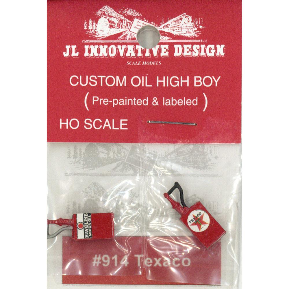 テキサコ(TEXCO)オイルポンプ :JLイノベーティブデザイン 塗装済み完成品 HO(1/87) 914