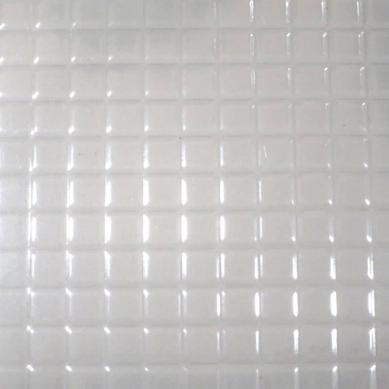 スクエアタイル(クリア) :プラストラクト プラ材 ノンスケール PSC-44