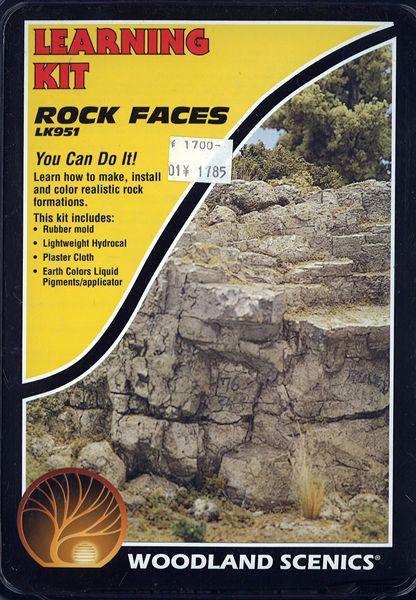 入門素材セット 岩肌 :ウッドランド 素材 ノンスケール LK951