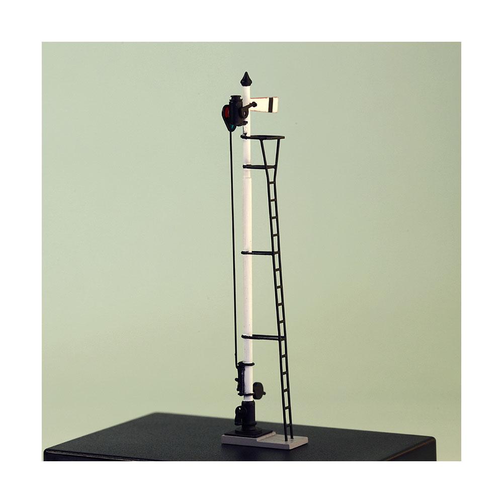 1/80 国鉄型腕木信号機(出発) :工房ナナロクニ 塗装済完成品 1/80(HO) 1044