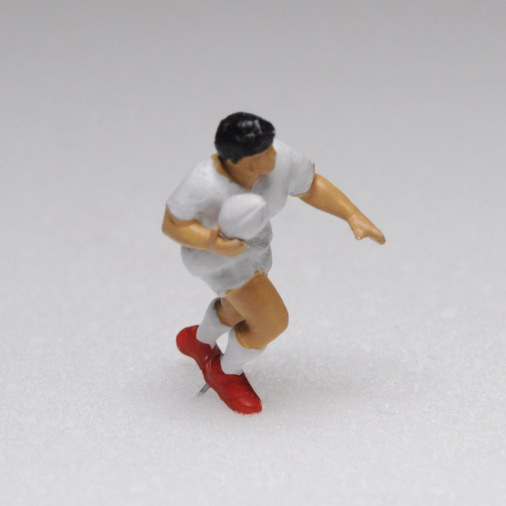 アスリート人形 ラグビー ランA :さかつう 3Dプリント 完成品 HO(1/87) 221
