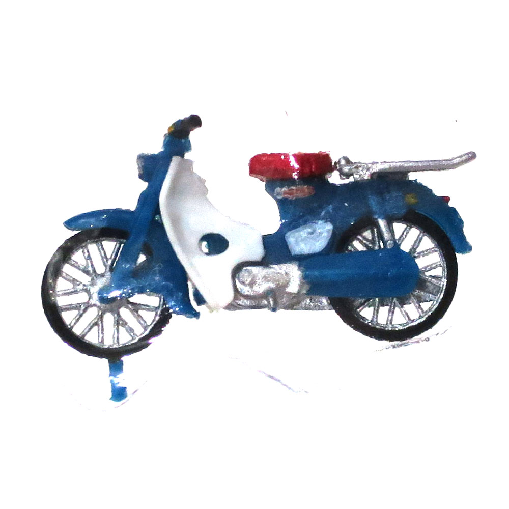 ホンダ・スーパーカブ 青 ビジネス :エコーモデル 塗装済完成品 HO(1/80) 5015