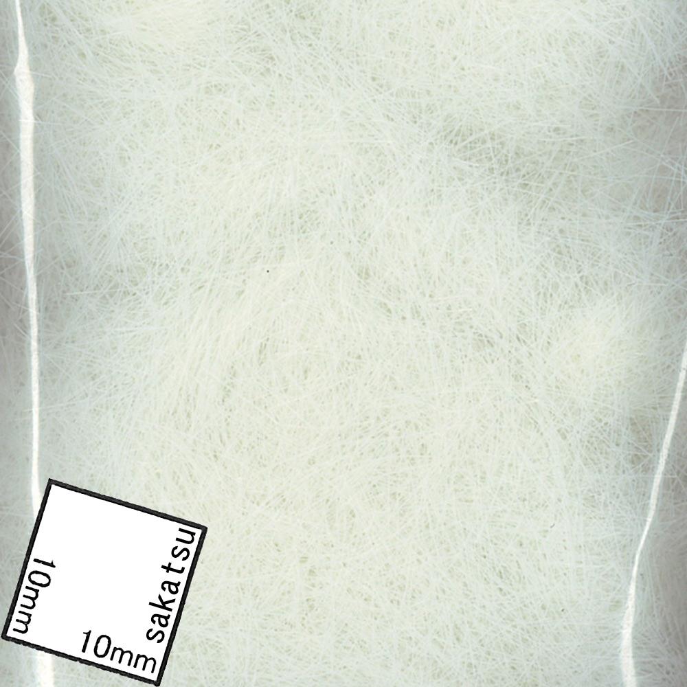 繊維系素材 白い草(6mm高さ) :ジョーフィクス 素材 ノンスケール 136