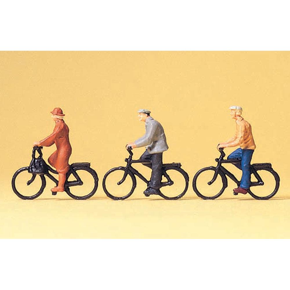自転車に乗る人 :プライザー 塗装済完成品 1/100 74011