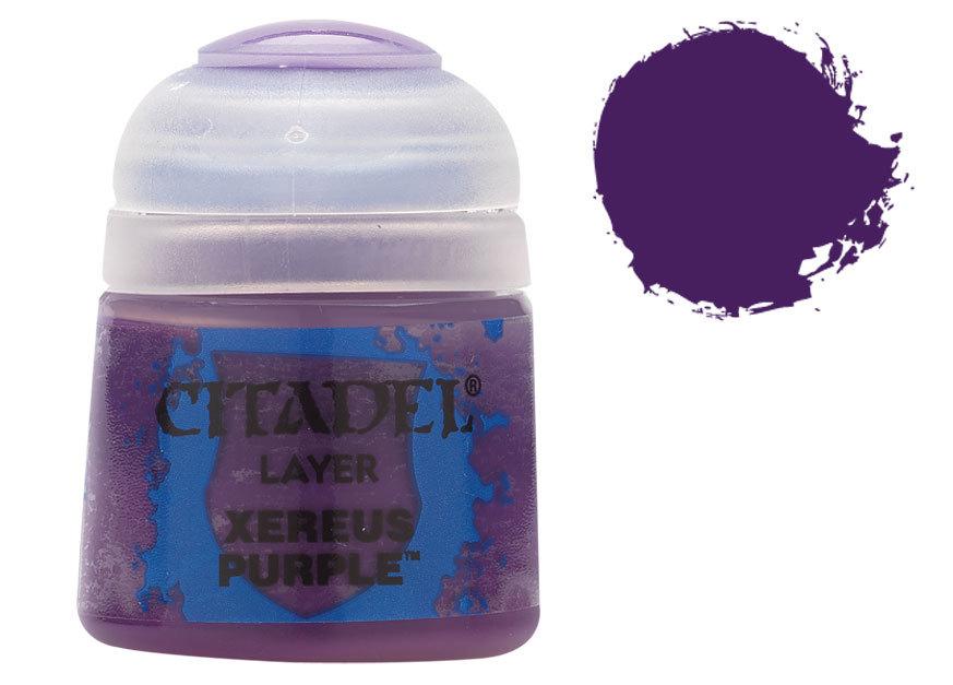 シタデル・レイヤー Xereus Purple(ズィレウス・パープル) :ゲームズワークショップ つや消し塗料 22-09
