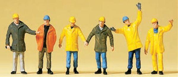 保護服を着た作業員 :プライザー 塗装済完成品 N(1/160) 79142