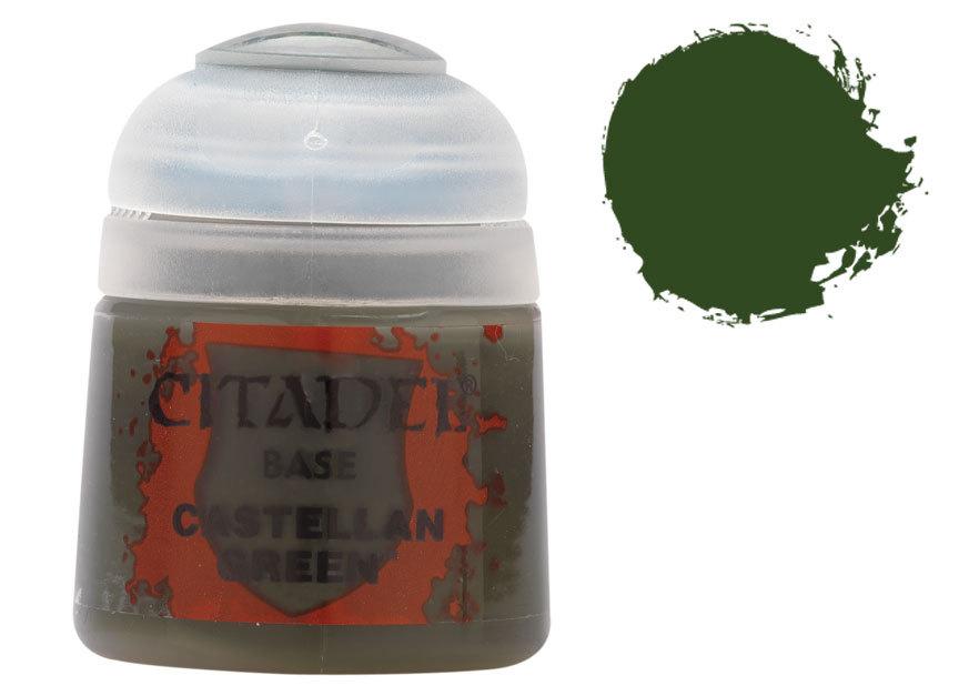 シタデル・ベースコート Castellan Green(キャステラン・グリーン) :ゲームズワークショップ つや消し塗料 21-14