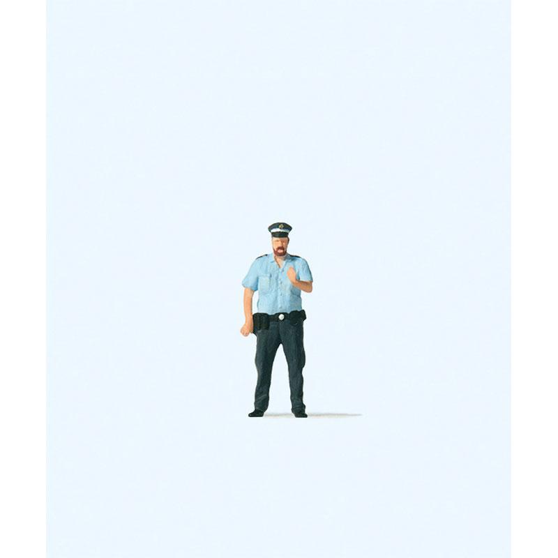 警察官 :プライザー 塗装済完成品 HO(1/87) 28236
