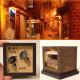 90ミリキューブミニチュア 「窓の外2」 :太郎 塗装済完成品 ノンスケール