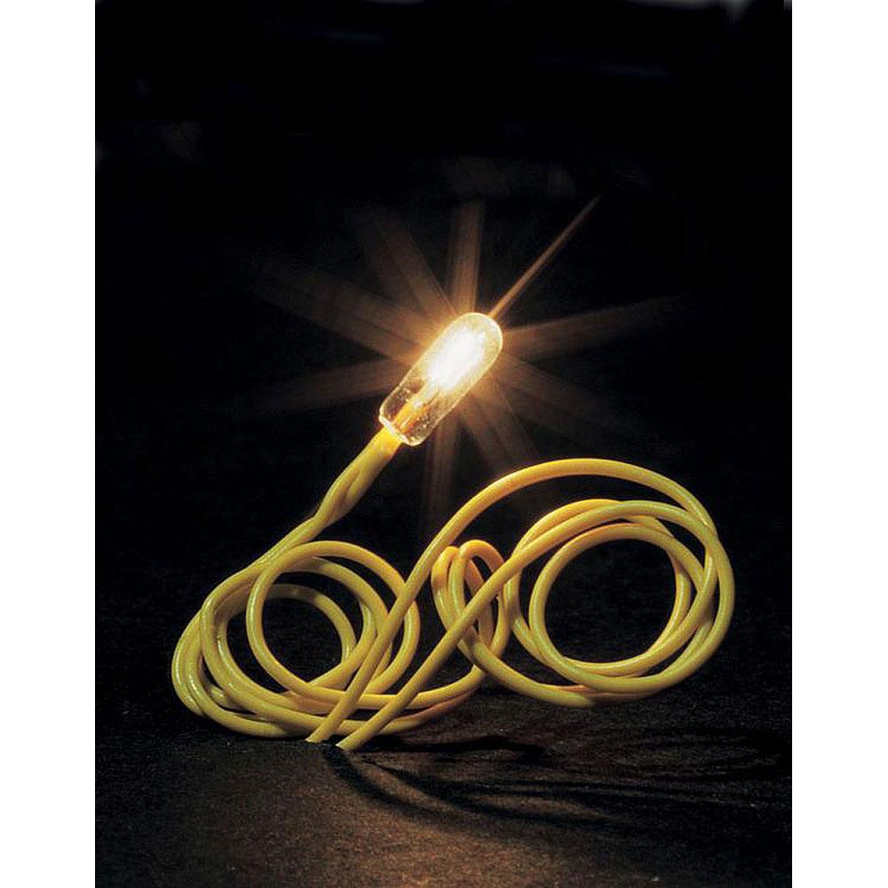 マイクロ電球 ホワイト(白) :ファーラー 素材 180671