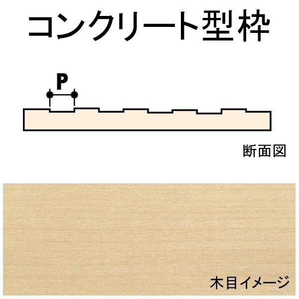 コンクリート型枠 1.6 x 1.6 x 88 x 609 mm 2枚入り :ノースイースタン 木材 ノンスケール 70415
